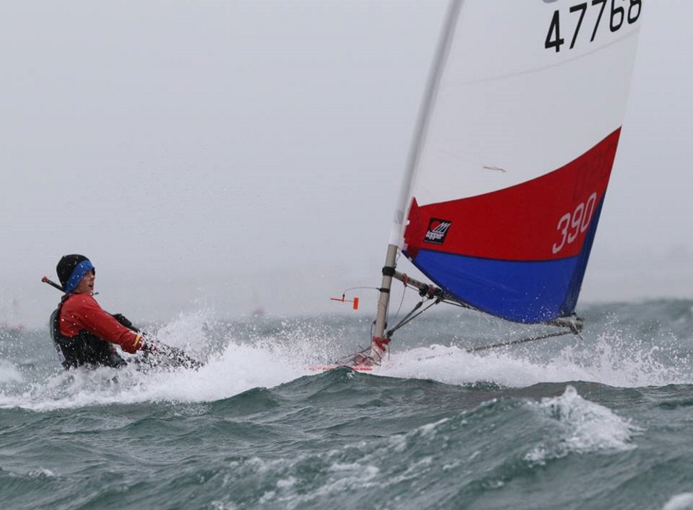 Sam Cooper - RYA NW Youth Champion