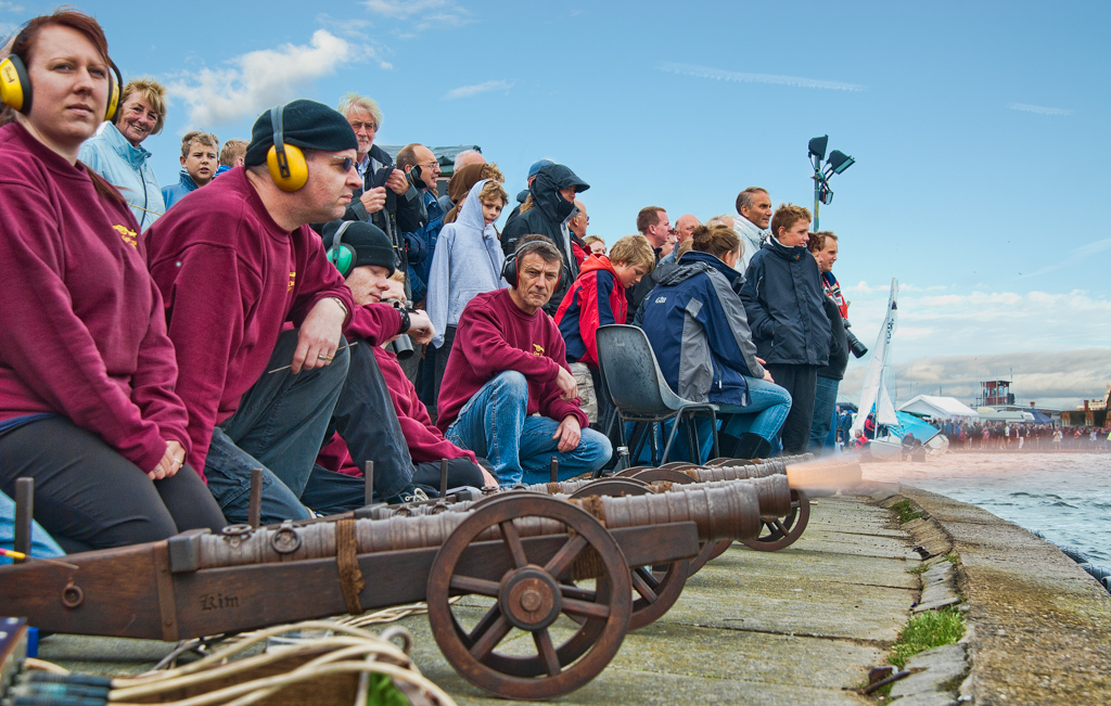 Canons start the race on Saturday:: Ear defenders definitely required!!